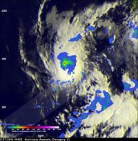 TRMM Image of Amanda