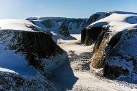 A Glacier near Penny Ice Cap