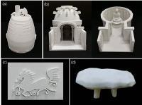 3-D Printed Material Samples