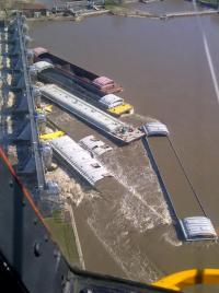 Sunken Barges