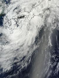 MODIS Image of Neoguri