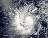 MODIS Image of TS09W