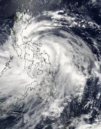 MODIS Image of Rammasun