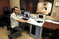 Stephen Wilson and MRI Scanner