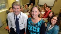 Alex Mabe and Lorraine Braswell, MCG-VA Program