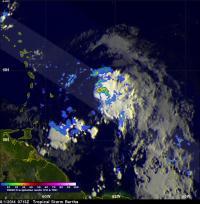 TRMM Image of Bertha