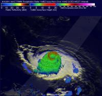 TRMM Image of Iselle