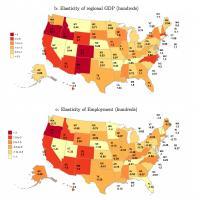 How Local 'Shocks' Influence US Economy