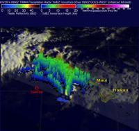 TRMM 3-D Image of Iselle
