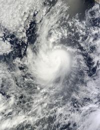 MODIS Image of Karina