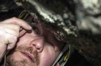 Magnus Ivarsson in Cave