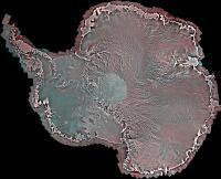 RADARSAT-2 Antarctica Mosaic Composite