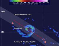 TRMM Image of Karina