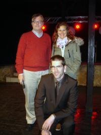 Piet Herdewijn, Anna-Skrollan Geiermann and Ivo Sarac