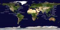 ForestGEO Map