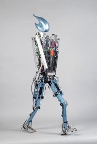 Delft Robot Flame Walks Like a Human