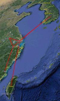 Routemap of H7N9 HA Gene