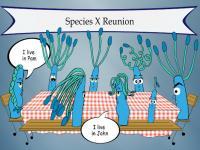 Cartoon of Gut Microbe Strains
