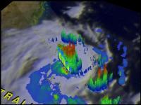 TRMM Video of Marcia