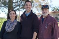 Nichole LaPointe, Zachary Levine and Stuart Feinstein, University of California - Santa Barbara