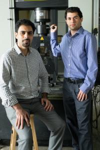 Rouzbeh Shahsavari and Navid Sakhavand, Rice University