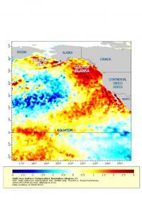 High West Coast Ocean Temperatures