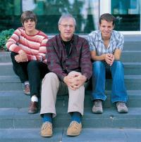 Prof. Naama Barkai, Prof. Benny Shilo and Danny Ben-Zvi