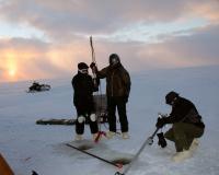 Samping Thermokarst Lake Sediments on the North Slope of Alaska