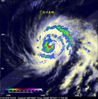 TRMM Rainfall Analysis of Maysak