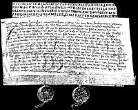 Bark Manuscript from Novgorod the Great