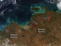 Bushfires Abound in Northwestern Australia