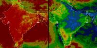 Precipitation in India Varies Significantly from Season to Season