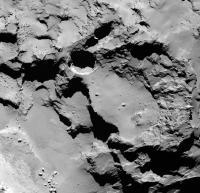 Rosetta 67P Pits (1 of 3)