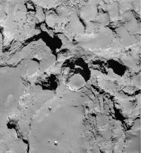 Rosetta 67P Pits (3 of 3)