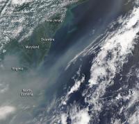 Canadian Smoke Now Over US East Coast