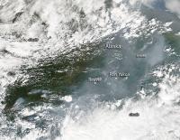 Dozens of Alaskan Wildfires Detected by NASA Satellite