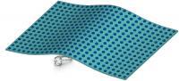 Thin Dielectric Carpet Cloak