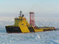 IODP Arctic Coring Expedition, Fall 2004.
