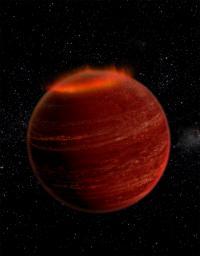 'Failed Stars' Host Powerful Auroral Displays