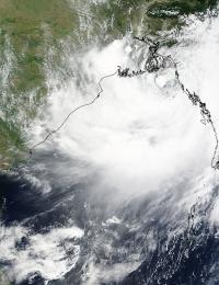 NASA Sees New Tropical Storm Hugging Bangladesh Coast