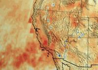 California's Accumulated Precipitation