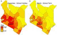 Seasonal Spread of Rubella Across Kenya