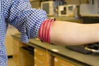 Magnetic Human Body Communication Prototype