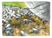 Every Day Life in the El Portalon Cave