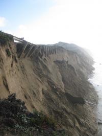 Severe Coastal Erosion During an El Niño Storm