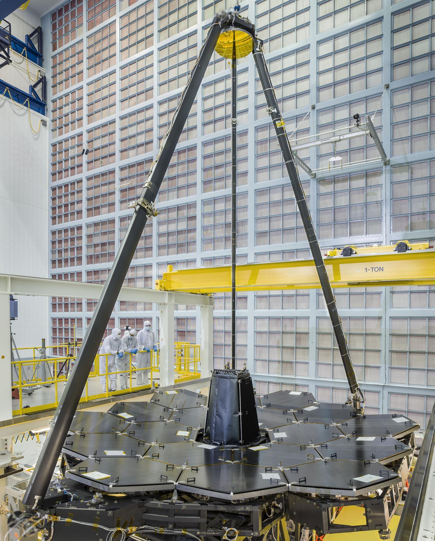 cryogenic links of the week - space NASA's James Webb telescope