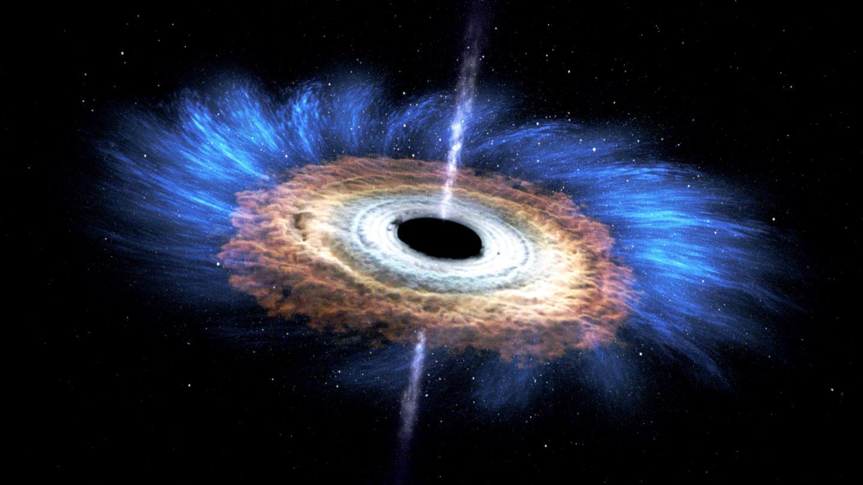 black hole accretion - photo #10