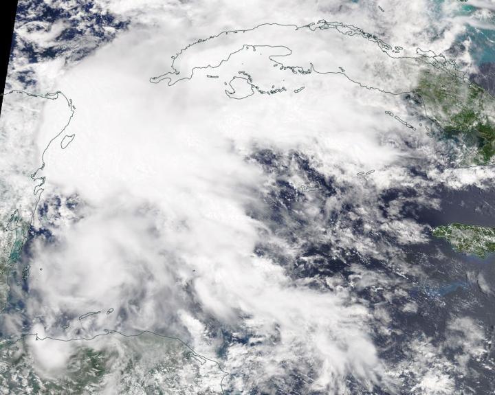 ae7b3993e1389 NASA satellites spot first Atlantic sub-tropical storm
