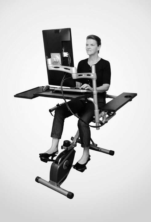 Pedal desk