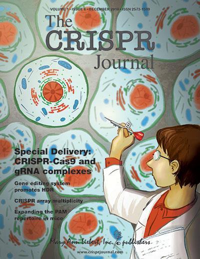 Media alert: New articles in The CRISPR Journal